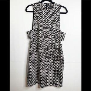 Forever 21 Plus Sleeveless Geometric Print Dress